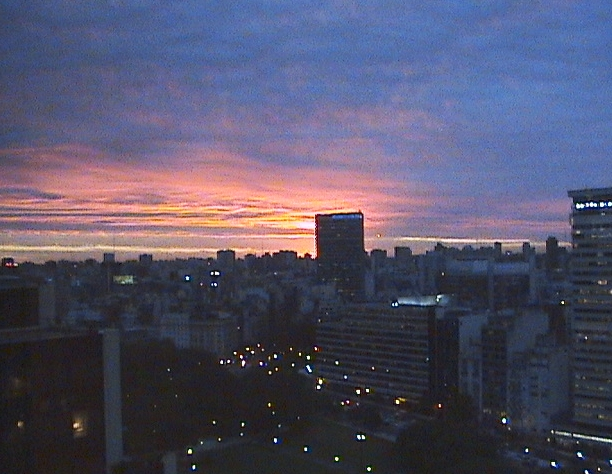 Baires sunset